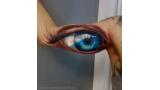 커다란 눈동자 타투 '화제'